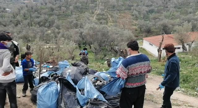 Waste management at Camp Moria