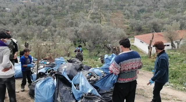 Waste management at Camp Moria