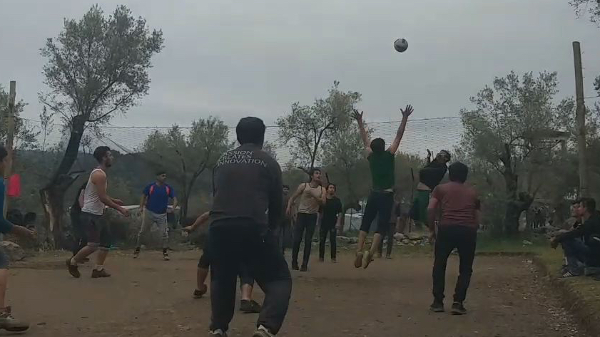 Volleyball. Camp Moria