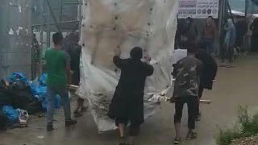 transport in camp moria